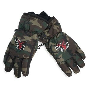 JORDAN Camo Youth Ski 3M Insulated Gloves with